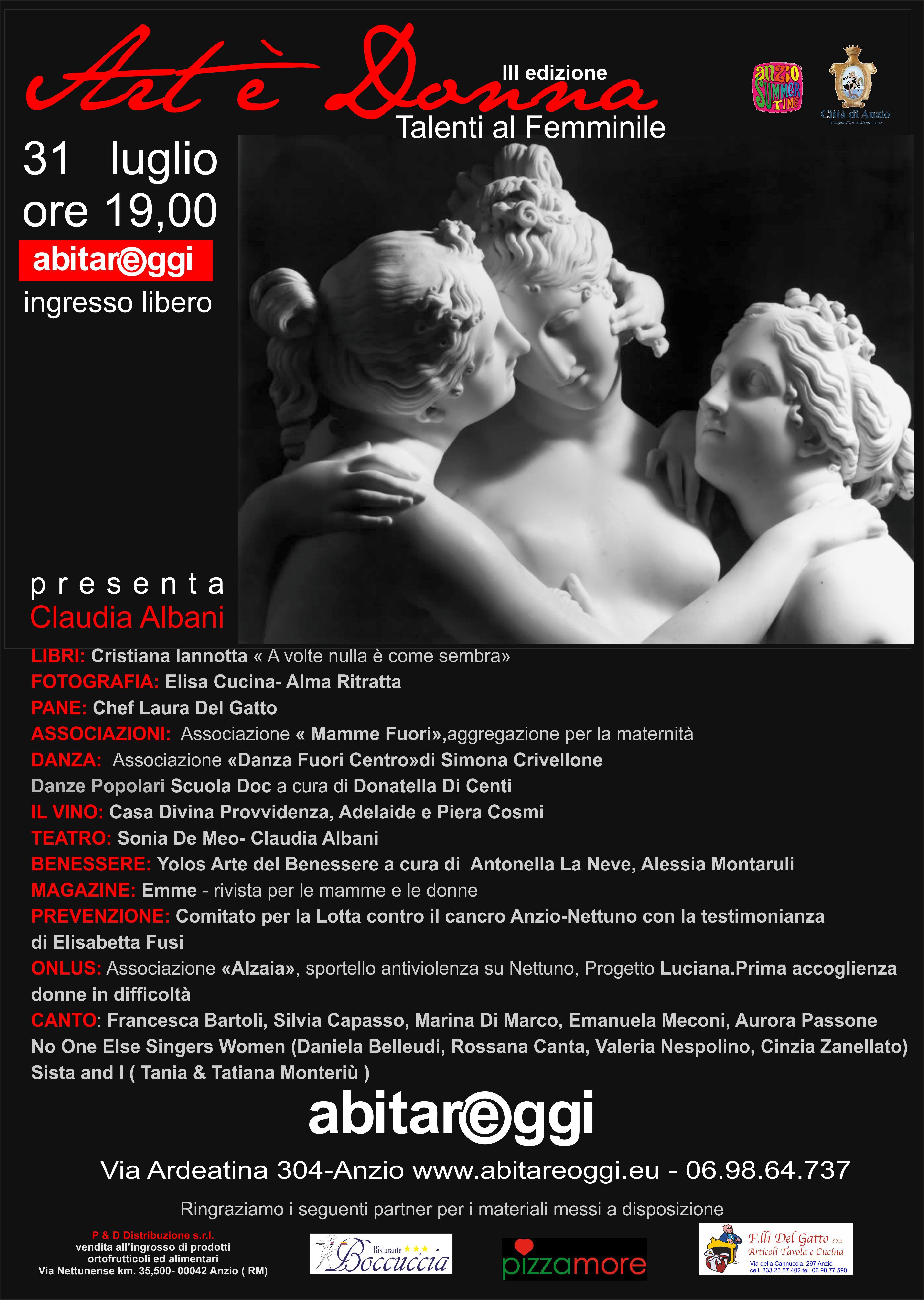 Art è Donna: la manifestazione di talenti al femminile - L\'Eco Del ...