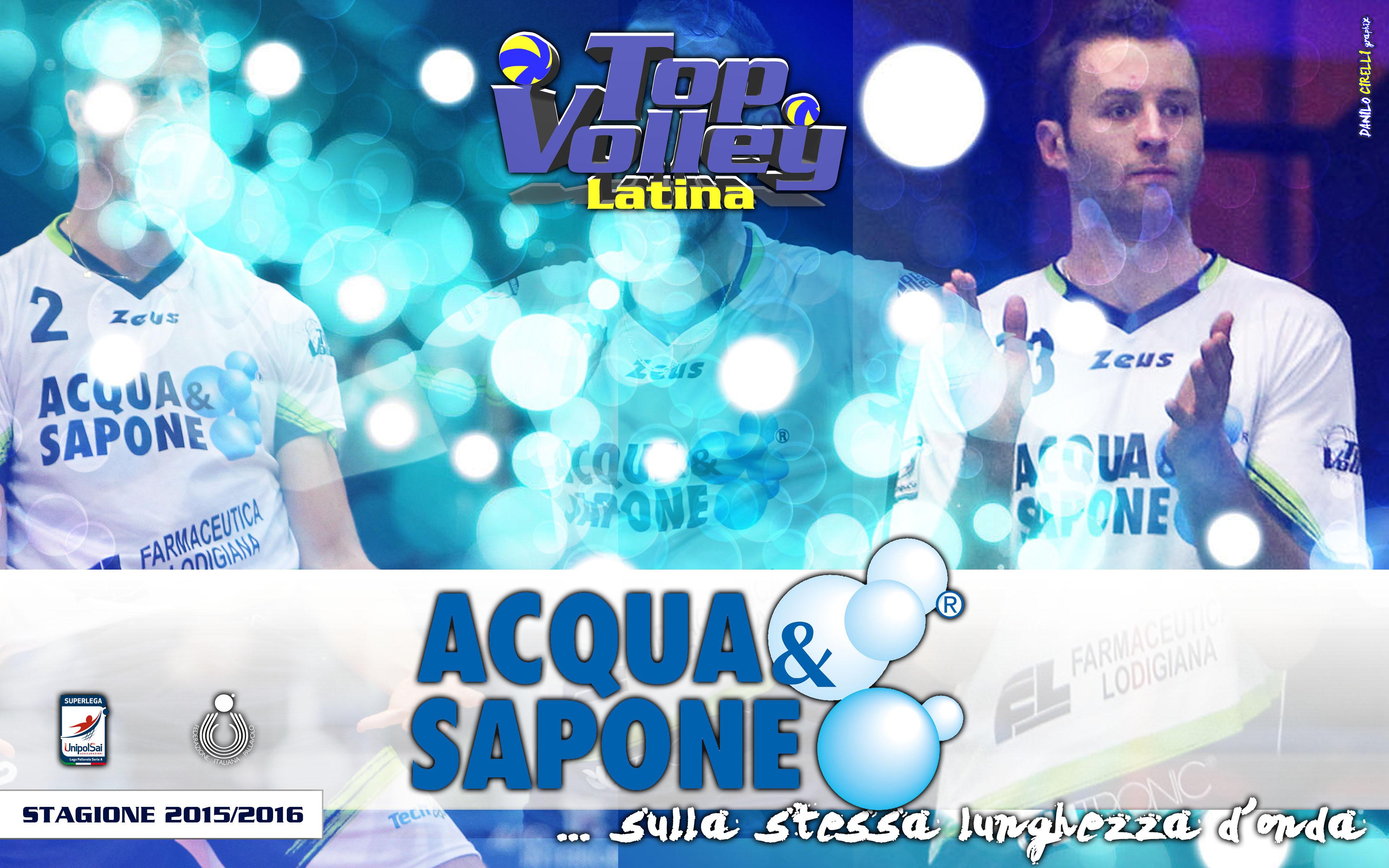 Top volley latina acqua e sapone sulle maglie da gioco for Catalogo acqua e sapone 2015